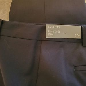 Talbots Navy Trousers